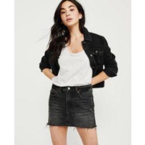 Abercrombie & Fitch 🌿  Cut Off Denim Skirt